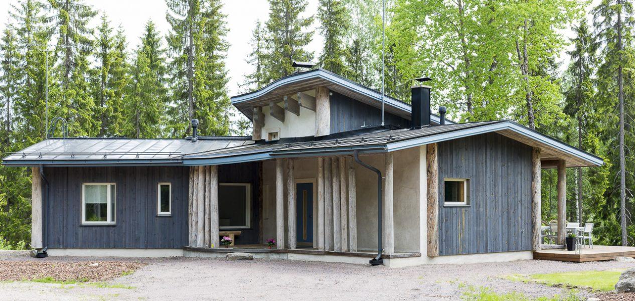 Villa Metso Paarakennus